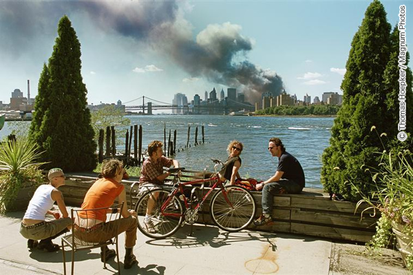 ニューヨーク、2001年9月11日