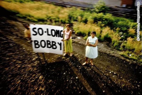 ロバート・F・ケネディの葬儀列車、1968年
