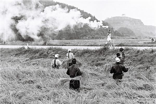 東京五輪物語 白河の聖火リレー